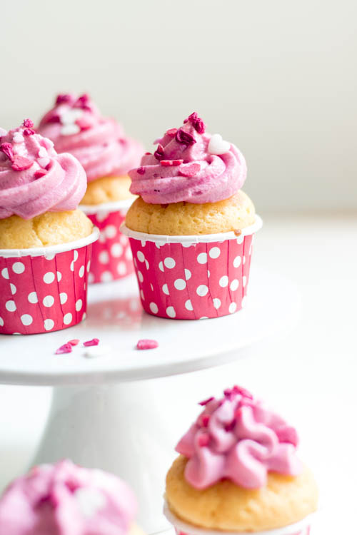 Rezept Cupcakes Himbeere