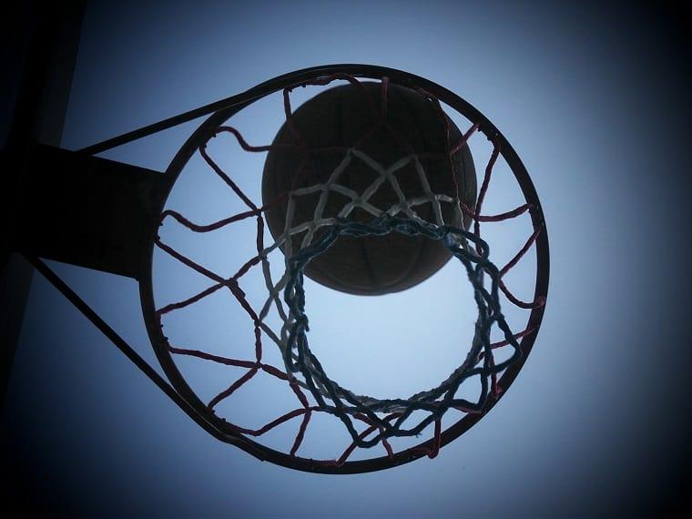 basketball hoop - thankfulness