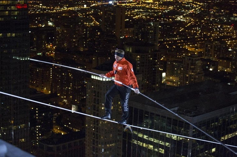 Nik Wallenda Chicago - active faith