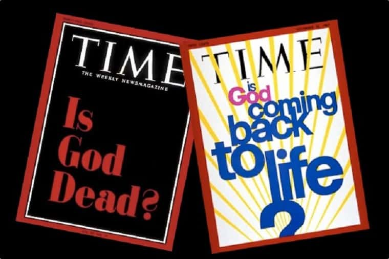 Is God Dead 1966 & 1969-- The Bible is Relevant