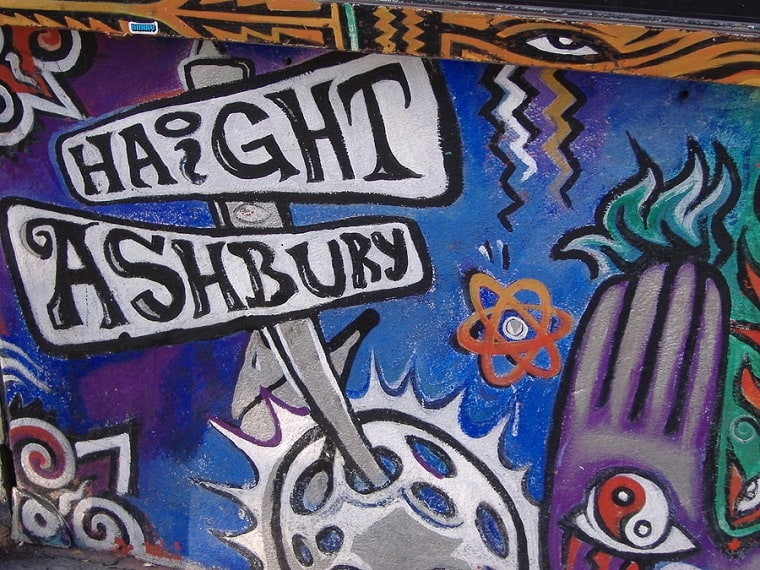 Haight Ashbury Mural - Bible an authority in your life