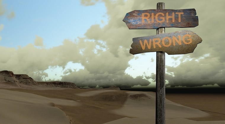 right and wrong way to apply the Bible to our lives