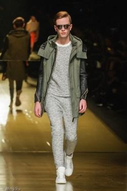 Mackage SS14 collection at World MasterCard Fashion Week Toronto