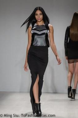 Cara Cheung Spring 2014 runway at World MasterCard Fashion Week Toronto