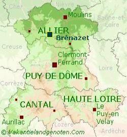 Brnazet-kaart