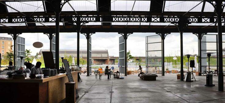 Antwerpen: Park Spoor Noord