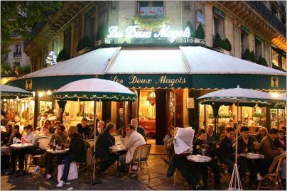 Les Deux Magots Brasserie 6 Place Saint-Germain des Prés, 75006 Paris, Frankrijk lesdeuxmagots.fr +33 1 45 48 55 25 Nu geopend: 07:30–01:00