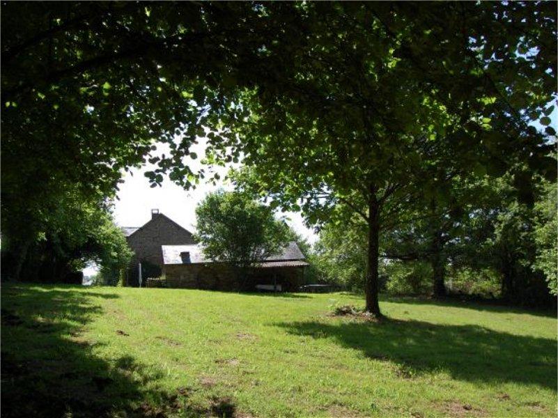 Huis te koop Frankrijk Limousin tuin achter 2