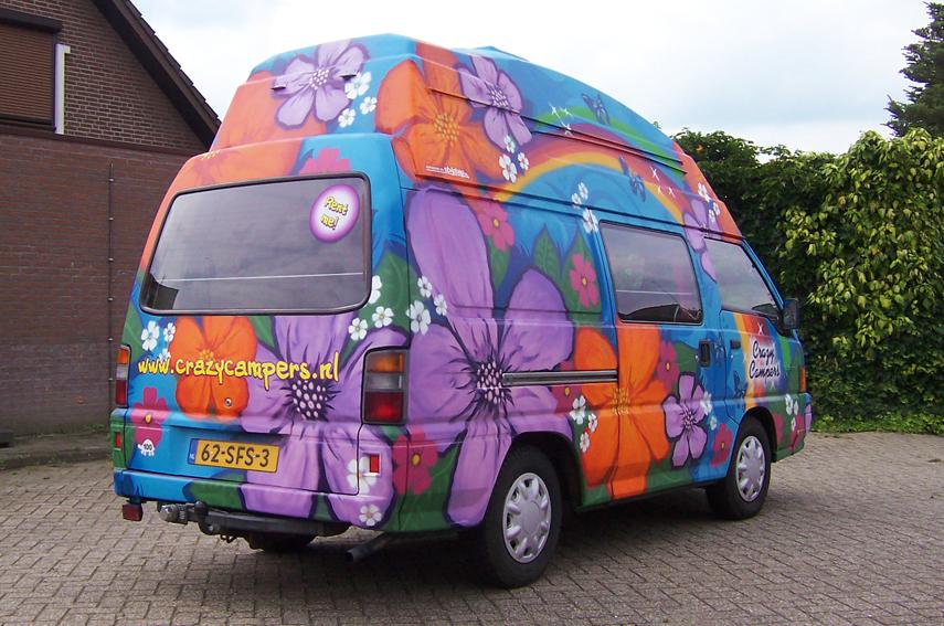 Graffiti CrazyCampers Freedom
