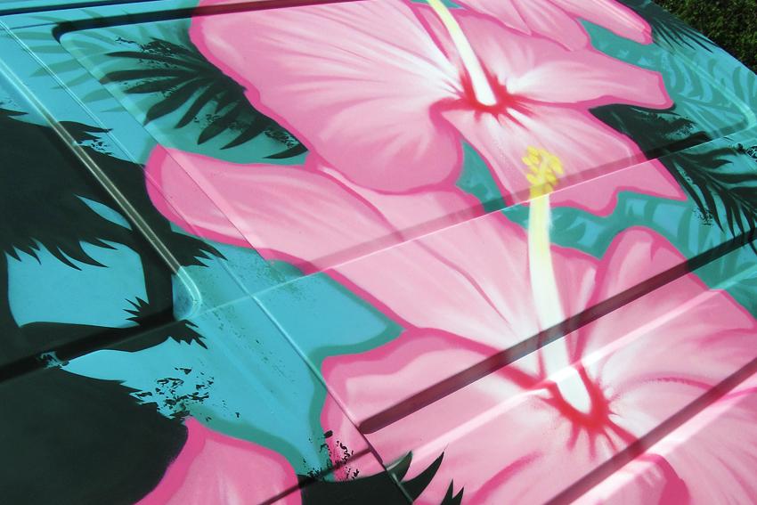 Graffiti Hawaii Surfvan 4