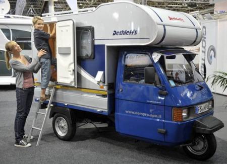 Piagio Dethleffs camper 1