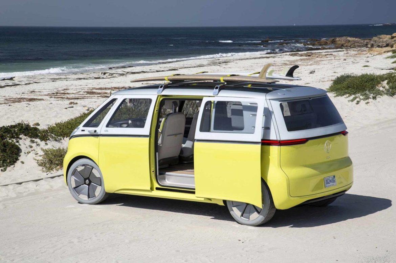 Volkswagen-ID-Buzz-concept-at-Pebble-Beach-rear-three-quarter