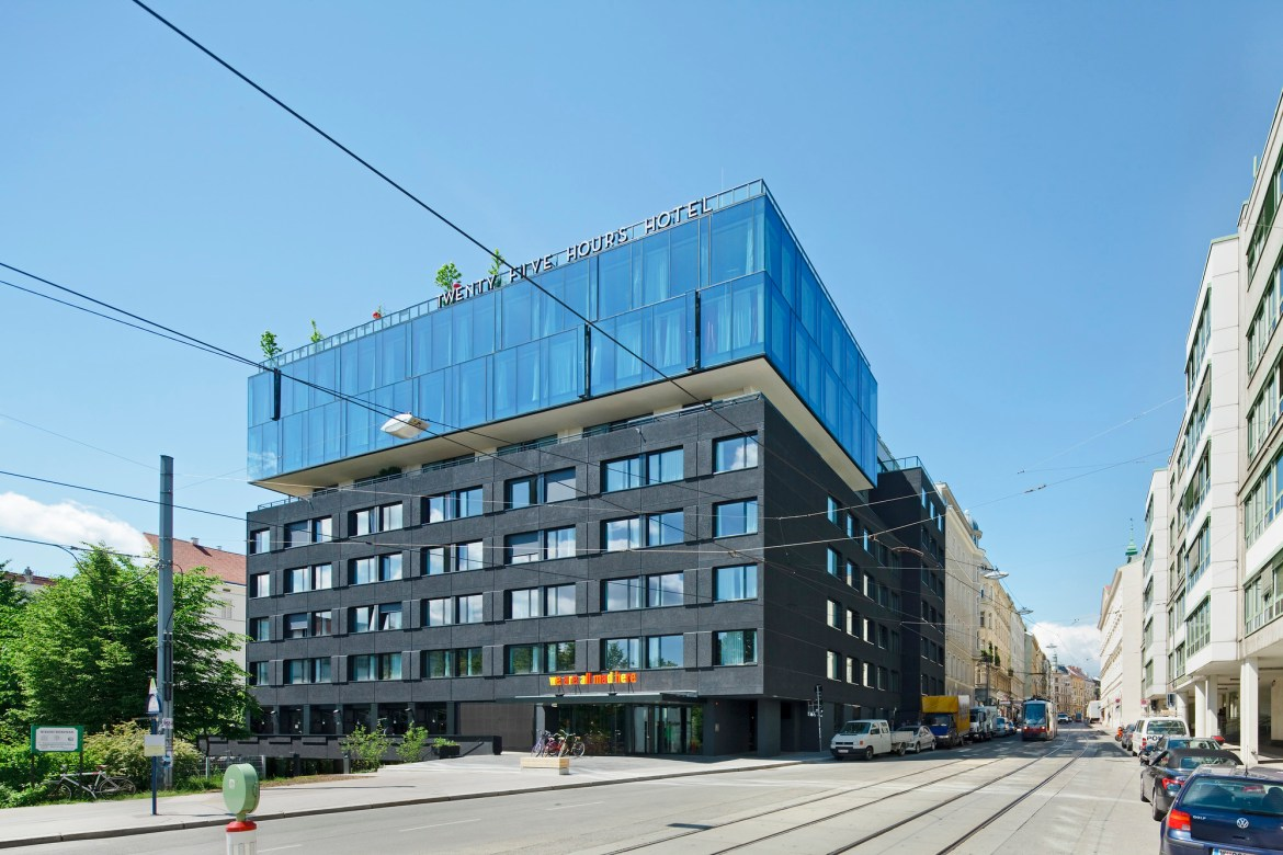 25 Hours Hotel, Vienna by BWM Architects, Vienna, Austria.