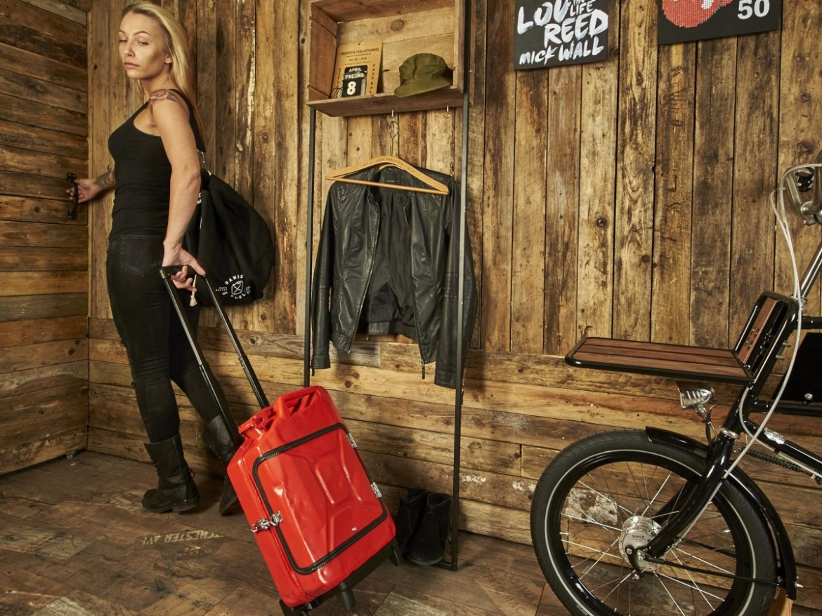 Upcycle de Jerrycan - 2ww trolley - wvm