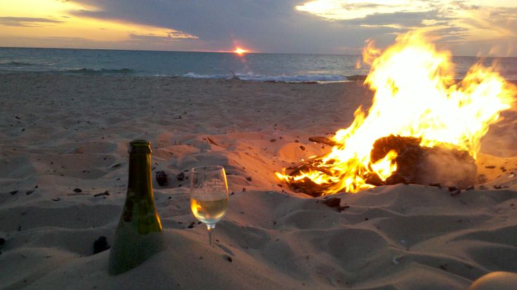 beach-bonfire