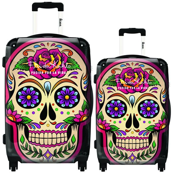 iKase-Frida-Khalo-Multi-Color-Skull-2-piece-Hardside-Spinner-Luggage-Set-c4c51b5f-6493-4c65-8ce0-e3aed5a0f962_600