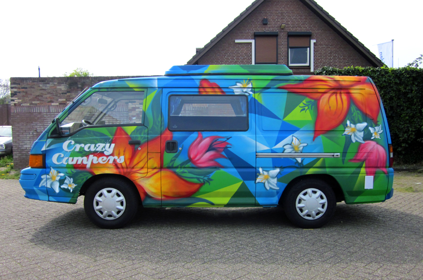Graffiti CrazyCampers Olly