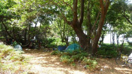 camping in Samothraki 02