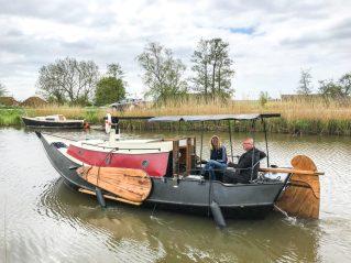 Op Avontuur met vakantieboot frederiek .Ligplaats ; Driehuizen