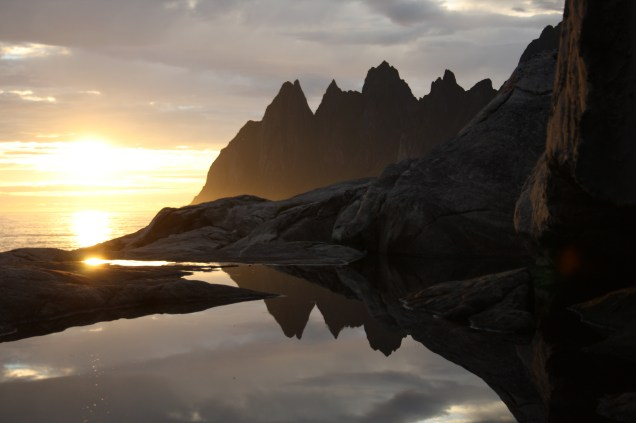 Jagged teeth on Senja.