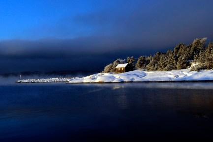 Vinter, Norway by Trond Thorvaldsen