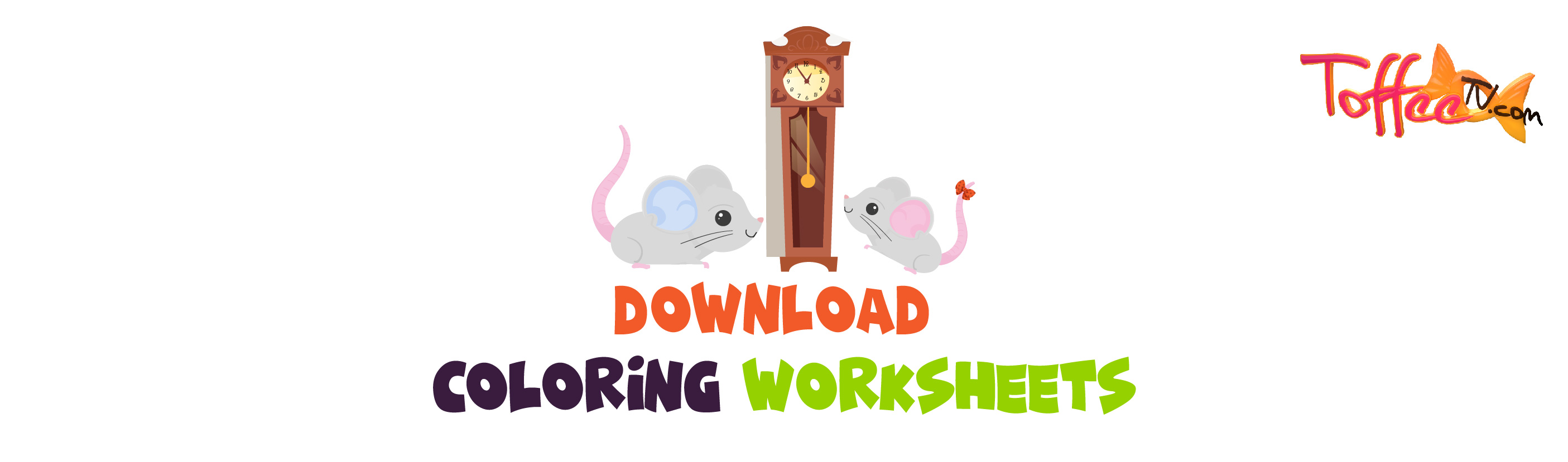 Combined Coloring Worksheet Of Hickory Dickory Dock
