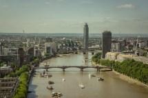 lambeth bridge, MI5 and MI6 headquarters