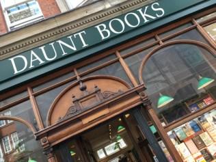 Daunt Books ligger på Marylebone High Street.