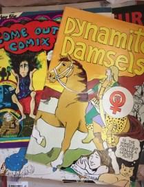 Jag sparade de lesbiska serietidningarna.