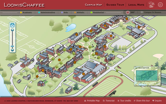 Butte College Main Campus Map