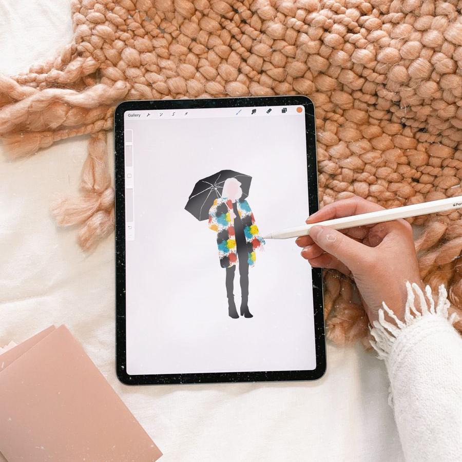 draw vector people in adobe illustrator