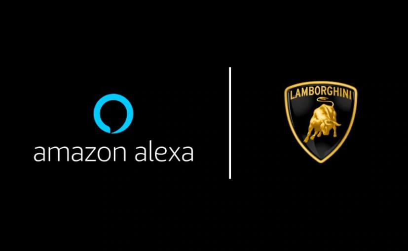 O Lamborghini Huracan Evo torna-se no primeiro carro do mundo a ter uma integração com o assistente Amazon Alexa 1