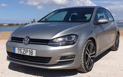 VW Golf 7 1.6 TDI de 2013 - Full Extras