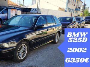 Usado BMW 525D E39 Carrinha de 2002