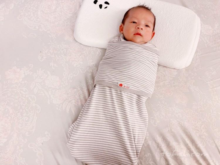 【育兒好物】美國embé二合一小蜜蜂舒眠包巾-第一階段 讓寶寶可以不受驚擾安心入睡的最佳懶人包巾選擇