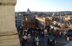 View from the glorious Chiesa della Trinità dei Monti