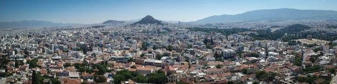 Acropolis over Athens
