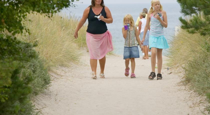 Familjevänligt boende Tofta Strandpensionat