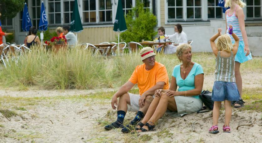 Barn & vuxna älskar Tofta Strandpensionat