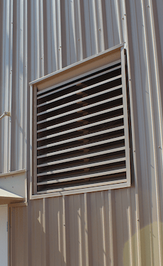 industrial louvers fixed adjustable