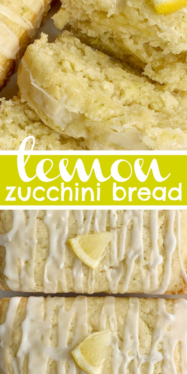 Lemon Zucchini Bread | Zucchini Bread | Lemon Bread | Lemon Zucchini Bread is a perfect way to use up zucchini. Buttermilk makes this bread so moist and cake-like. Loaded with zucchini, fresh lemon juice, and lemon zest. Bakes up perfectly each and every time! #lemonbread #zucchinibread #quickbreadrecipe #recipeoftheday #zucchinirecipes