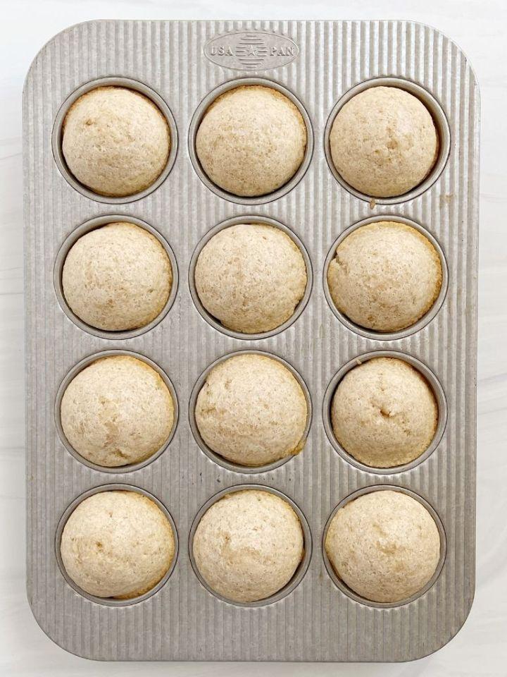 Recipe for cinnamon & sugar donut muffins.