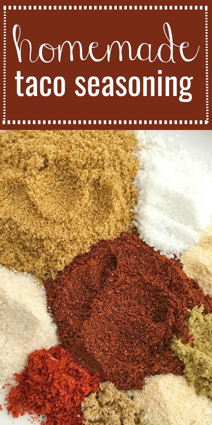How To Make All Natural Taco Seasoning