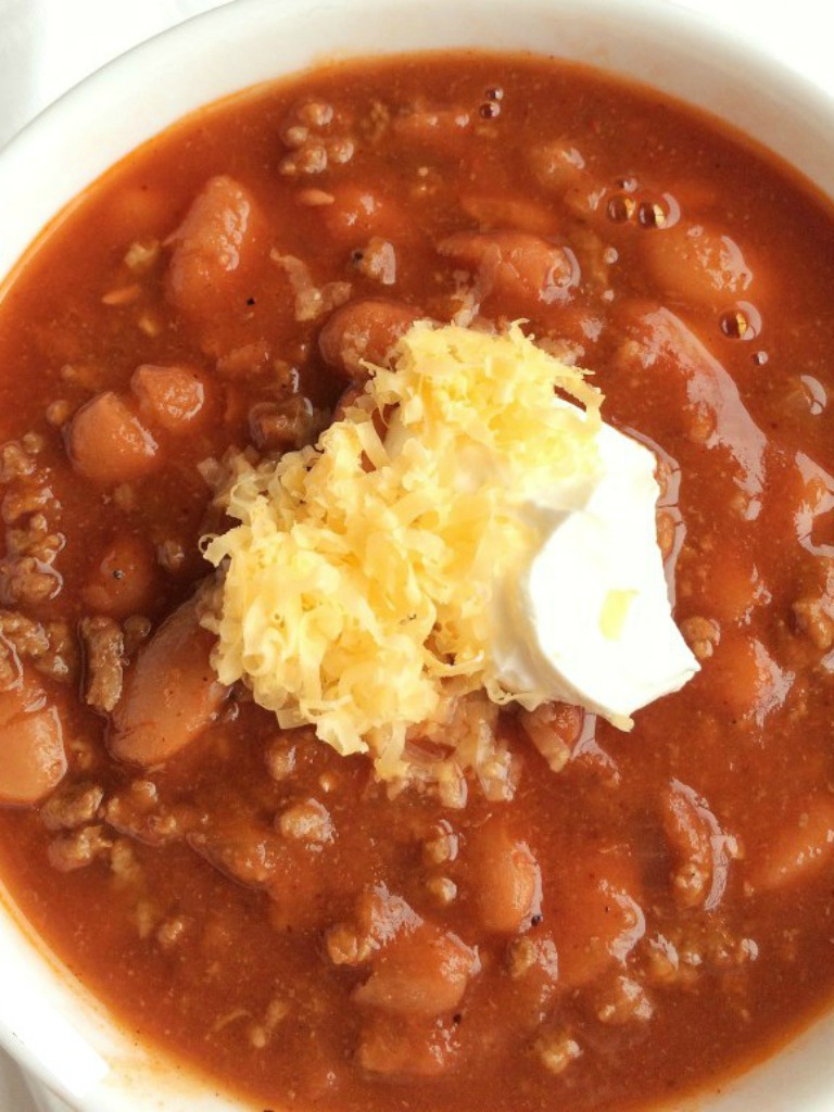 (the best!) Classic Chili - Together as Family