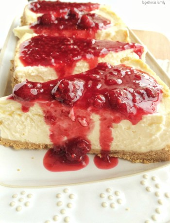 Perfectly cooked, no cracks, & not too sweet! This is the perfect cheesecake. Tips & tricks to help you get your own perfect cheesecake that will impress anyone!