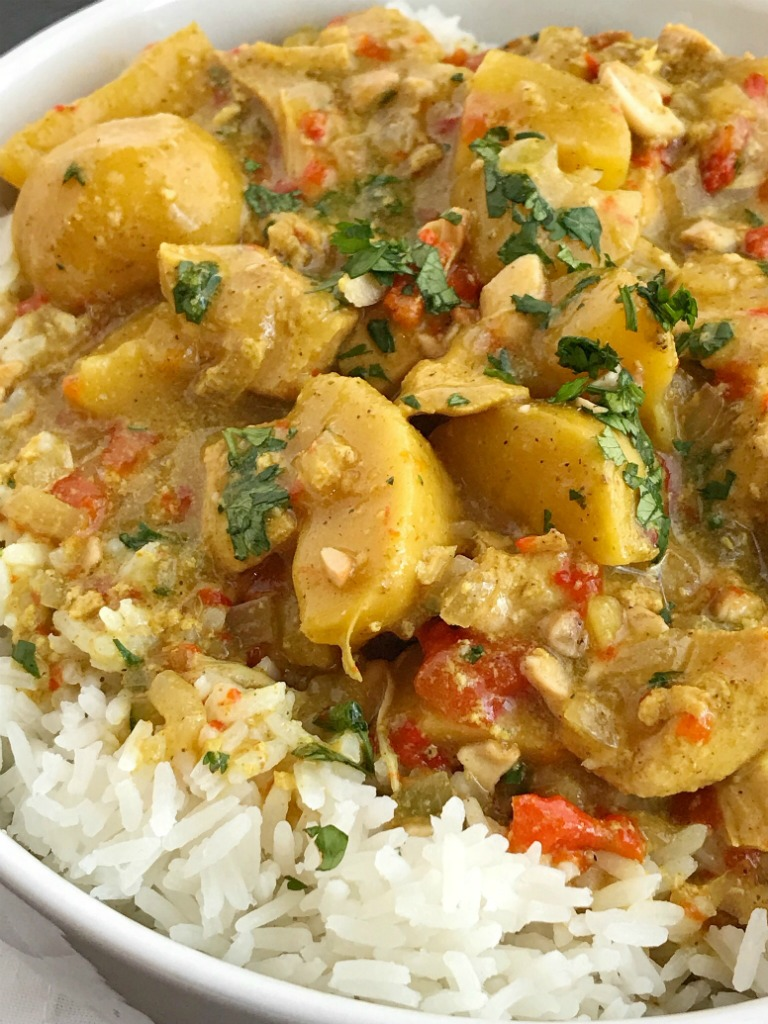 Slow Cooker Coconut Curry Chicken Together As Family