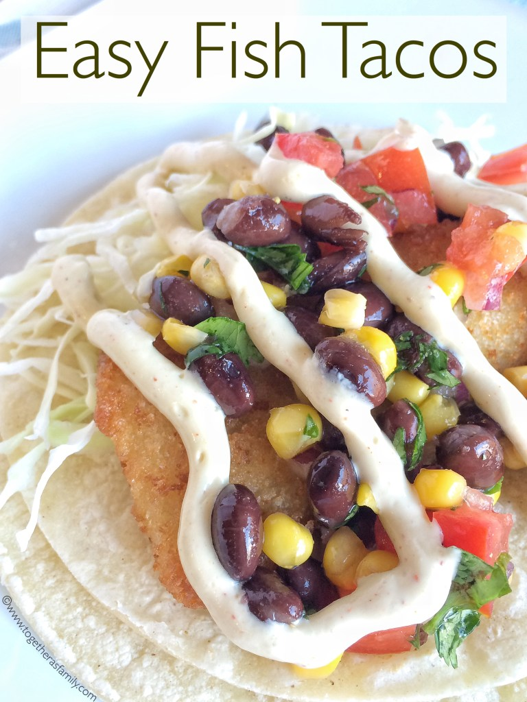 Green chile turkey tacos together as family for Easy fish tacos recipe