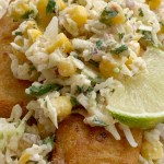 Easy Fish Tacos | Fish Taco Recipe | Easy Fish Tacos made with convenient frozen crispy fish sticks and a simple, 5 ingredient homemade cabbage slaw. Serve with corn tortillas for a simpler, and easier way to enjoy fish tacos. #fishtacos #easyrecipes #dinner #dinnerrecipes #tacos #tacorecipe
