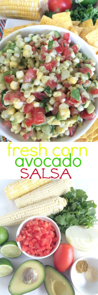 FRESH CORN AVOCADO SALSA | www.togetherasfamily.com