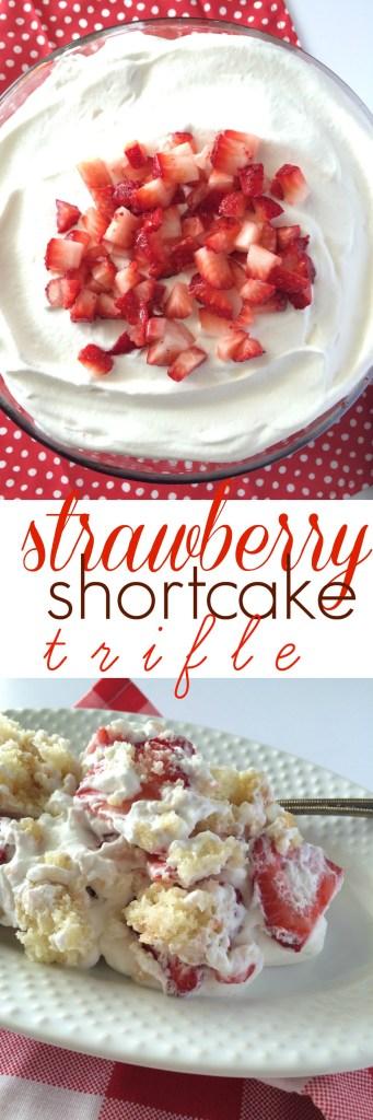 Strawberry Shortcake Trifle | www.togetherasfamily.com